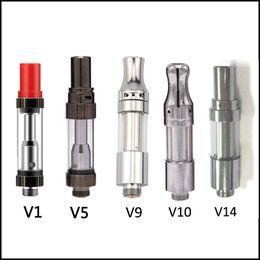 Wholesale Hot Usa - USA Hottest Itsuwa Amigo Liberty V1 V5 V9 V10 V14 510 Thick Oil Vaporizer Cartridge 0.5ml Pyrex Glass Tank DHL Free