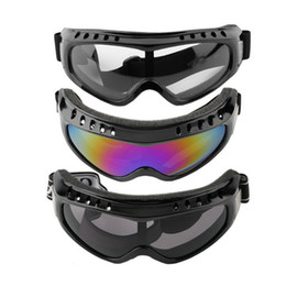 paintball tactical Coupons - Cool Protection Cycling Eyewear Goggles Tactical Paintball Clear Glasses Wind Dust Motorcycle