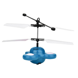 Wholesale Ufo Aircraft Toy - Hand Flying UFO Ball LED Mini Induction Suspension RC Aircraft Flying Toy Drone D50