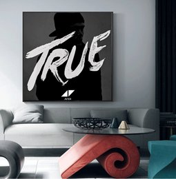 Canada Avicii DJ Music Symbol Affiche Vintage Imprime Peinture À L'huile Sur Toile Mur Art Peintures Murales Photos Pour Salon Decoratio No Frame Offre