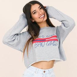 suéter deportivo para mujer Rebajas 2018 Sudadera ropa tops con capucha Sudadera con capucha Suéter Mujer Ocio deporte mujer manga larga otoño moda jogging señoras corto FS5720