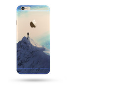 Wholesale Transparent Back Cover For Mobile - For iphone 8 cell phone cases with iphone 7 plus 6 5s Mobile phone back protective cover ultra-thin painting cover factory wholesale price