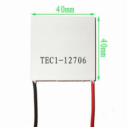 Thermoelectric cooler online-1 Stück TEC1-12706 40X40MM TEC Thermoelectric Cooler Peltier 12V 6A 60W 92W max