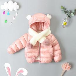 Canada Enfants Veste D'hiver Toddler Filles Manteau Chaud Bébé Mignon Vêtements Automne Survêtement Enfants Coton Rembourré Vestes Pour Filles Garçons cheap cute toddler jackets Offre
