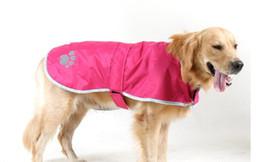 Wholesale Cheap Extra Large Dog Coats - Wholesale Cheap Dog Raincoat Nylon Large Dog Raincoat Waterproof Jacket dog Warm Clothes New High Quality Reflect Dogs Coat Pet Raincoat