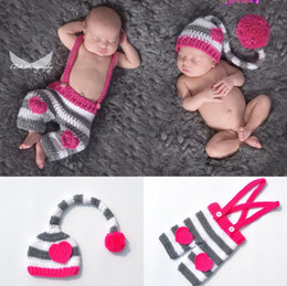 Long tail Love heart Hat Style Newborn Photography Baby Hat Crochet  Clothing Set Knitted Infant Boys Photo Fotografia Props Cartoon Costume 15a46528a795