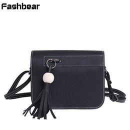 Wholesale green wooden beads - Women Messenger Bags 2018 NEW Tassel Handbags Wooden Bead Vintage Flap Crossbody Bags For Women Korean Style Girls Shoulder Bag