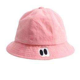 1f145371627 New Autumn Baby Fisherman s Hats Boy Girl Cotton Hat Winter Baby Warm Cartoon  Cap Children Bucket Hat Kids Sun Beach Cap Beanies