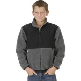 2018 новая зима дети флис толстовки куртки пальто открытый повседневная женщины мужские дети куртки лыжный вниз пальто черный розовый размер S-XXL от