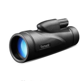 Navio monocular on-line-HD 12x50 Monocular Monocular de Visão Noturna Impermeável Bolso de Água para a Caça Telescópio Prisma Óptico DHL Frete grátis