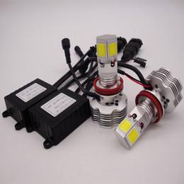 H4 cree scheinwerfer online-H4 H7 H11 H1 9005 9006 9007 CREE LED-Scheinwerfer-Umrüstsatz 400W 40000LM Glühlampen Hi / Lo 6000K