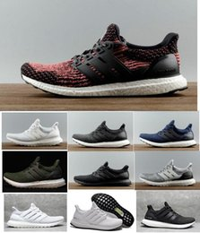 Wholesale Multi Color Women Shoes - Ultra Boost 2.0 3.0 4.0 UltraBoost mens running shoes sneakers women Sport Tri-Color NMD R2 CNY Snowflake Core Triple Black White