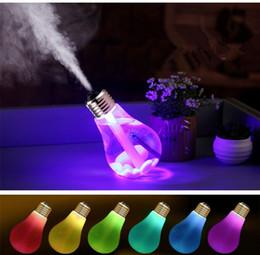 Difusor del aceite esencial del bulbo 400ML Ultrasonic LED Puerto USB Árbol de planta 3 colores para la opción Difusor del difusor del aroma Usb del Usb desde fabricantes