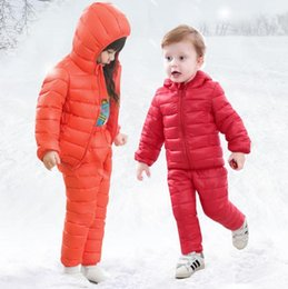 2018 winter High quality Children s boys Clothing sets down boys clothing  kids outerwear   coats for Girls jackets snow 2-6Y e5f28111d