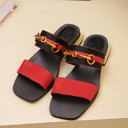 Wholesale Ladies New Style Sandal - New fashion products Lady's Leather Sandals New European classic luxury style ladies leather sandals leather decor