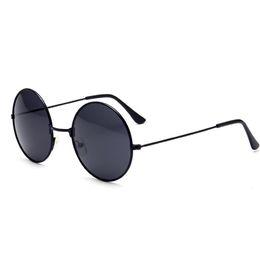 Motorrad Brille Retro Runde Sonnenbrille Vintage UV400 Steampunk Sonnenbrille schwarze Farbe für Männer Frau von Fabrikanten