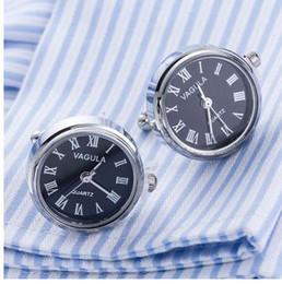 Новое прибытие реальные часы запонки VAGULA часы запонки с батареей tourbill машина ядро механические Gemelos от Поставщики мужские черные футболки
