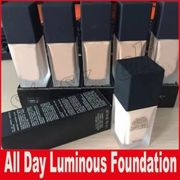 Wholesale Dhl Base - New Makeup All Day Luminous Weightless Foundation Cosmetics 1FI. Oz. 30mL 6 Colors Makeup Base DHL Free