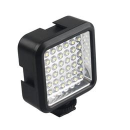 Lightdow LD-36 LED Video Kamera Işık Kısılabilir Kamera Paneli Lambası Gopro 2/3/4/5/6 SJCAM Xiaoyi Canon Nikon DSLR Kameralar cheap led light for gopro nereden gopro için led ışık tedarikçiler