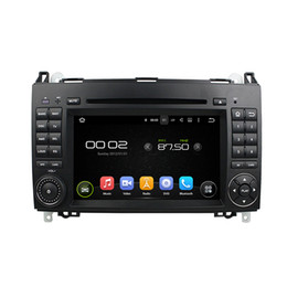 Wholesale radios mercedes benz - 4GB Ram Andriod 6.0 Car DVD player for Benz A-W169 B-245 Viano Vito with GPS,Steering Wheel Control,Bluetooth, Radio