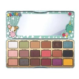 Wholesale Making Friends - HOT Clover A Girl's Best Friend Makeup 18 colors Eye Shadow Palette Make up Cosmetics Matte and Shimmer Eyeshadow Powder Palette free ship