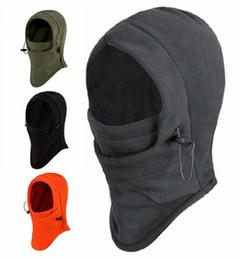 Canada Vente chaude 6 En 1 Polaire Thermique Balaclava En Plein Air Masques De Ski Vélo Cyling Bonnets D'hiver Vent Bouchon Face Chapeaux Offre