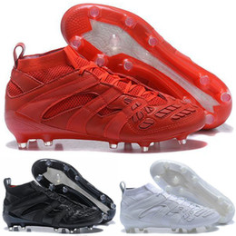 david beckham homens Desconto Predator Accelerator DB 2017 David Beckham chuteiras de futebol dos homens sapatos de futebol botas de nova chegada atacado Drop Shipping