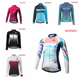 New Women SCOTT MERIDA Bicycle Jersey Long Sleeve Mountain Bike shirts Quick  Dry tour de france High Quality autumn Cycling clothing 101001Y e2cce6104
