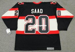 3876c0f64 custom Mens BRANDON SAAD Chicago Blackhawks 1930 s CCM Jerseys Vintage  Cheap Retro Hockey Jersey