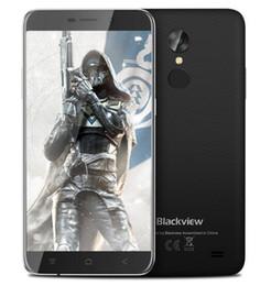 Wholesale Fingerprint Identification - Blackview A10 3G Smartphone Android 7.0 5.0inch MTK6580A Quad Core 1.3GHz 2GB RAM 16GB ROM Fingerprint Identification Cell Phone
