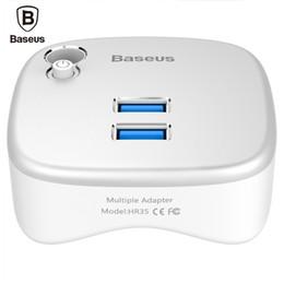 2019 cargador de escritorio Baseus 5 en 1 Extensor para portátil Extensión de acoplamiento Interfaz USB 3.0 Adaptador de cargador múltiple para Ultrabook / Tablet / Escritorio portátil rebajas cargador de escritorio