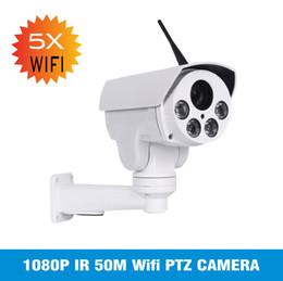 HI3516C + SONY IMX323 Sans fil HD 1080P Bullet Wifi PTZ Caméra IP 5MP 5X Zoom Mise au point automatique 2MP 10X Zoom optique Extérieur étanche IR Onvif ? partir de fabricateur