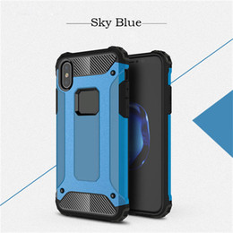Wholesale Cool Cell Cases - TPU PC Hard Cool Phone case Cell Phone Cases Mobile Accessories Case For Iphone 7 7Puls 8 8Plus X