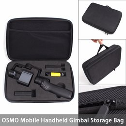 dji mavic pro accessoires Promotion Pour DJI OSMO Mobile Sac, DJI OSMO Mobile EVA Stockage Portable Paquet pour DJI OSMO Mobile Poignée Gimbal livraison gratuite