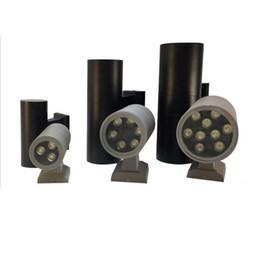 außenwandleuchten Rabatt Up Down LED Außenwandleuchte Außenwandleuchte leuchtet 9W 18W IP65 Wasserdichte Wandhalterung Leuchte Lampe AC 110-240V UL