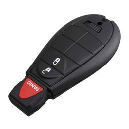 Esquivar el control remoto sin llave online-Keyless Remote Car Key Fob 3Buttons Y160 Blade PCF7941 chip para Dodge 08-14 Grand Caravan 09-13 Viaje para Dodge