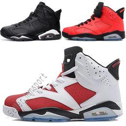 check out 2cc20 910a1 Gros Nike air jordan 2017 pas cher noir infrarouge Alternate Maroon chat  noir Carmine chaussures de basket VI 6 hommes chaussures de sport  athlétisme ...