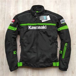 chaquetas de malla de motocicleta Rebajas Moto traje de carreras de verano, chaqueta de malla, chaqueta transpirable, traje de montar y un coche interior impermeable de doble uso