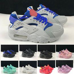 big sale 0e041 991ea Nike air Huarache 1 3 4 Air Kids Huarache Run 1 Schuhe Jungen Laufschuhe  Kinder Huaraches Outdoor Kleinkind sportlich Junge Mädchen Infant Sneaker  kinder ...