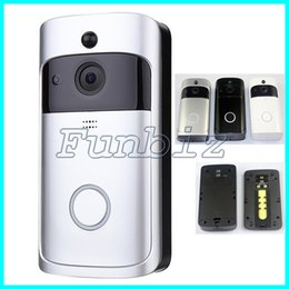 Wholesale Digital Video Doorbell - Wifi Wireless Video Doorbell Viewer Digital Door Viewer Camera Door Eye Video Two-way Audio Battery Operation Night vision Retail Package