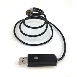 Wholesale button pinhole camera - 2 in 1 7mm Lens PC Android Endoscope Camera with 1m 2m 3.5m 5m 10m Cable Waterproof OTG Micro USB Endoscope with Camera Button