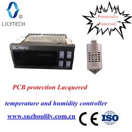 commercio all'ingrosso termometro del serbatoio della pesca Sconti ZL-7801C, 100-240VAC, regolatore di temperatura e umidità per incubatrice, incubatrice automatica multifunzione, incubatrice, lilytech