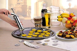 kekse hersteller maschine Rabatt 1 Satz DIY Cookie Werkzeug Keks Keks Extruder Presser Maschine Keks Maker Kuchen Machen Dekorieren Küche Backenwerkzeuge
