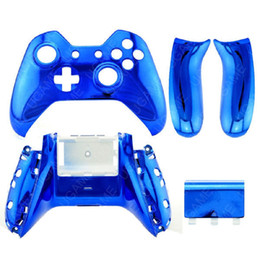 Wholesale Console Metal - Brand New & High Quality Generic Metal Plating Protective Case Cover Skin For Xbox-one Gaming Console Controller Brand New