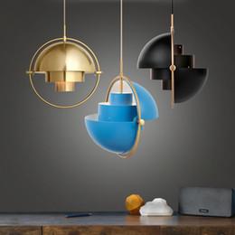 2020 lampara moderna tom dixon Poste de Lujo Moderno Lámpara Colgante de Metal Creativo Personalit Dormitorio Estudio Lámpara Colgante Moda Simple Restaurante Bar Colgante de Luz lampara moderna tom dixon baratos