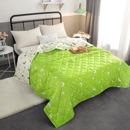 Edredón rosa sólido online-Nuevo Sólido rosado, colcha de verano, colcha de verano, manta, edredón, cubierta de cama, acolchado, textiles para el hogar, adecuado para niños adultos 29
