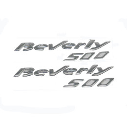 Wholesale Chrome Decals - KODASKIN Motorcycle Raise 3D Emblem Chrome Sticker Decal FOR PIAGGIO Beverly 500