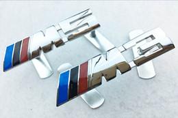 Wholesale Bmw M1 - For BMW Sport M1 M3 M5 Logo Brand Badge DIY Emblem Front Hood Bonnet Grill Grille Emblem