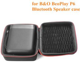 bs sprecher Rabatt Portable Stoßfest EVA Reisetasche Einfach Tragetasche Tasche für BO BeoPlay P6 Bluetooth Lautsprecher Schwarz