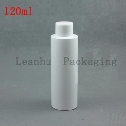 used plastic bottles 2018 - 120 ml PET Cosmetic Bottles of White, Used in Shampoo, Shower Gel, PET Grooming Products Packaging Bottles With Screw Cap